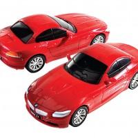 3Д Пазл БМВ Зет 4, красный, матовый / 3D Puzzle BMW Z4 red, solid