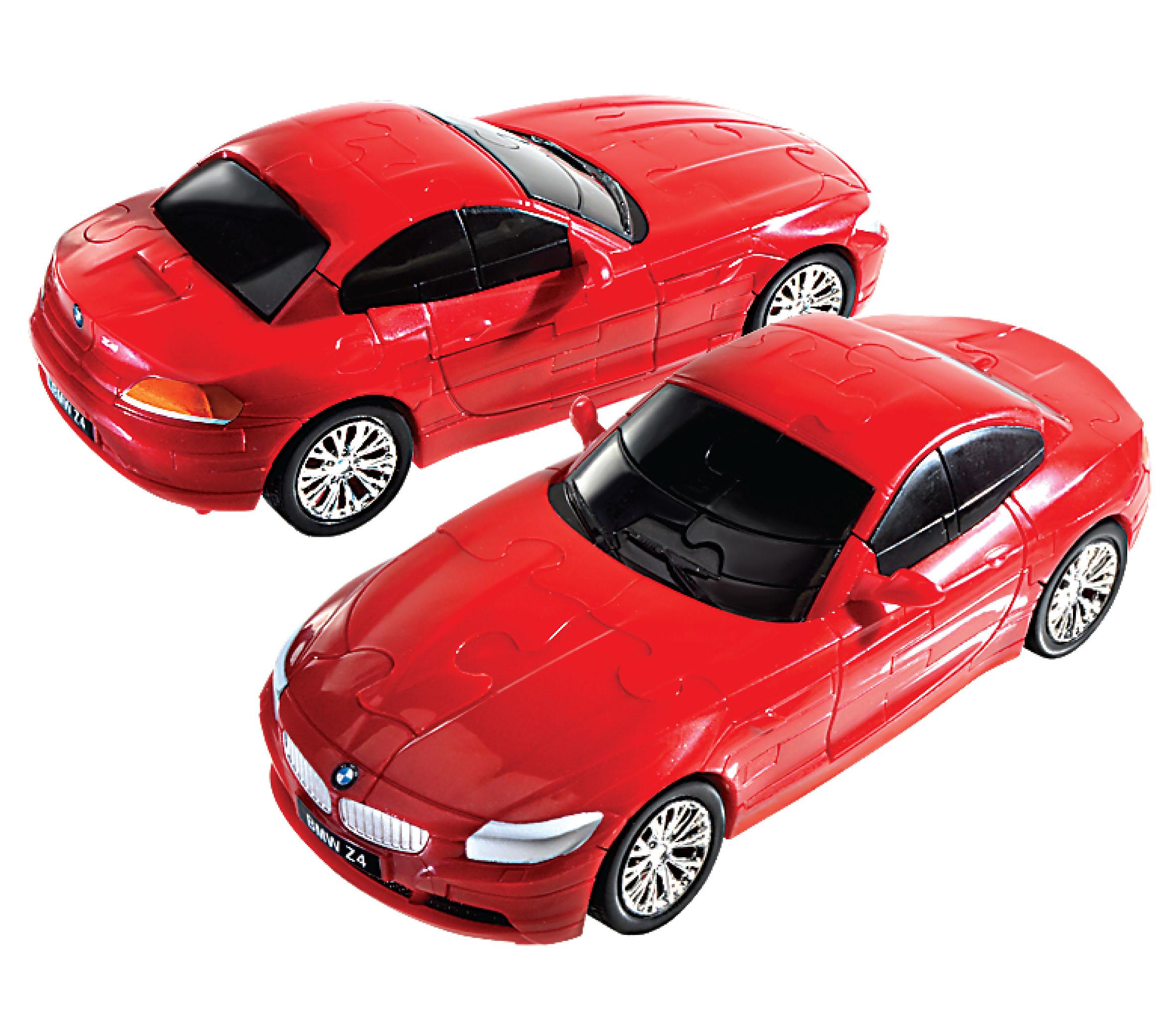 Bmw Z 2015: 3Д Пазл БМВ Z4 красный, матовый / 3D Puzzle BMW Z4