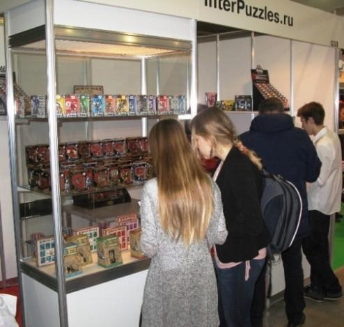 Компания InterPuzzles на Выставке KIDS RUSSIA 1-3 марта 2016 г.
