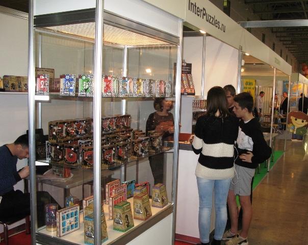 Компания InterPuzzles на Выставке KIDS RUSSIA-2016