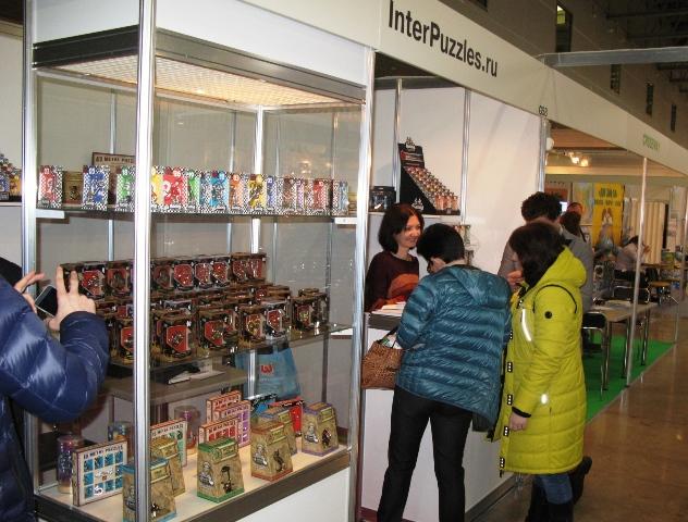 Стенд Компании InterPuzzles на Выставке KIDS RUSSIA-2016