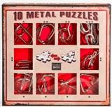 Подарочный набор головоломок красный