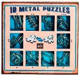Подарочный набор головоломок синий