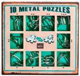 Подарочный набор головоломок зеленый