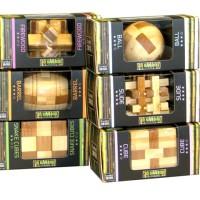 Деревянные головоломки Eureka-2