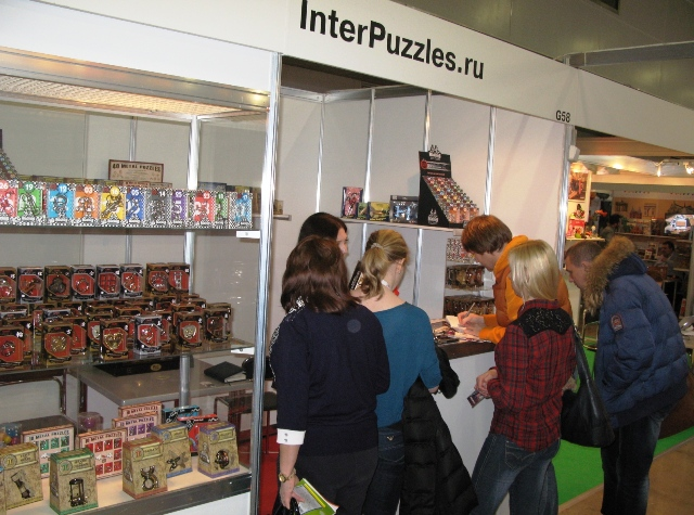 Компания InterPuzzles на Выставке KIDS RUSSIA 2016