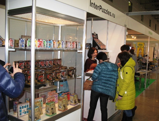 Стенд Компании InterPuzzles на Выставке KIDS RUSSIA-2016