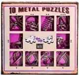 Подарочный набор головоломок фиолетовый