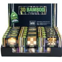 Деревянные головоломки Eureka 3D Bamboo