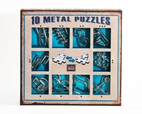 Набор головоломок Eureka синий