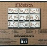 Набор из 9 Стимпанк головоломок коричневый_1